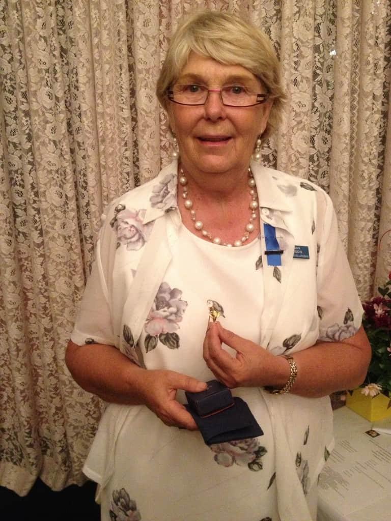 Sue Benson 2013