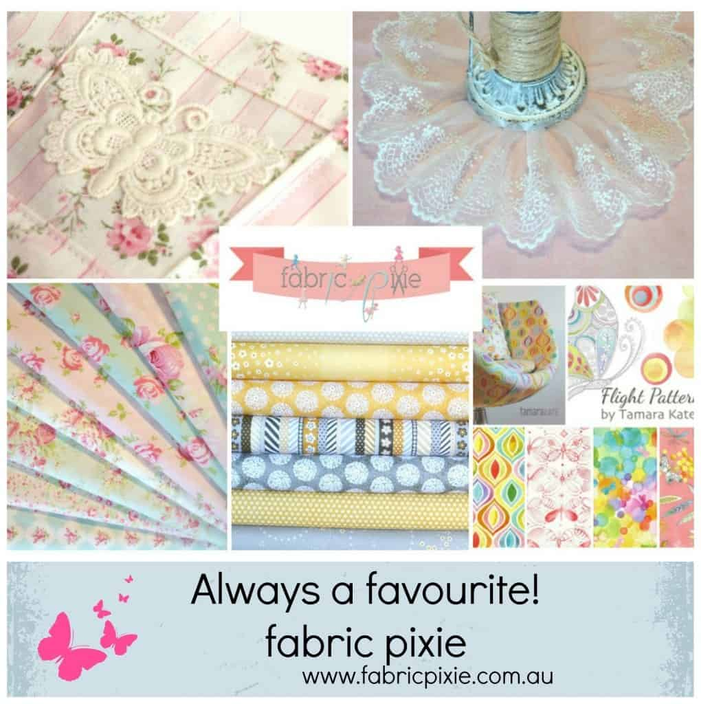 fabric pixie Collage