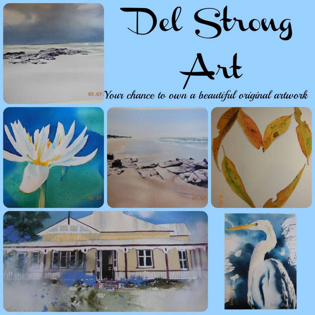 Del Strong Collage
