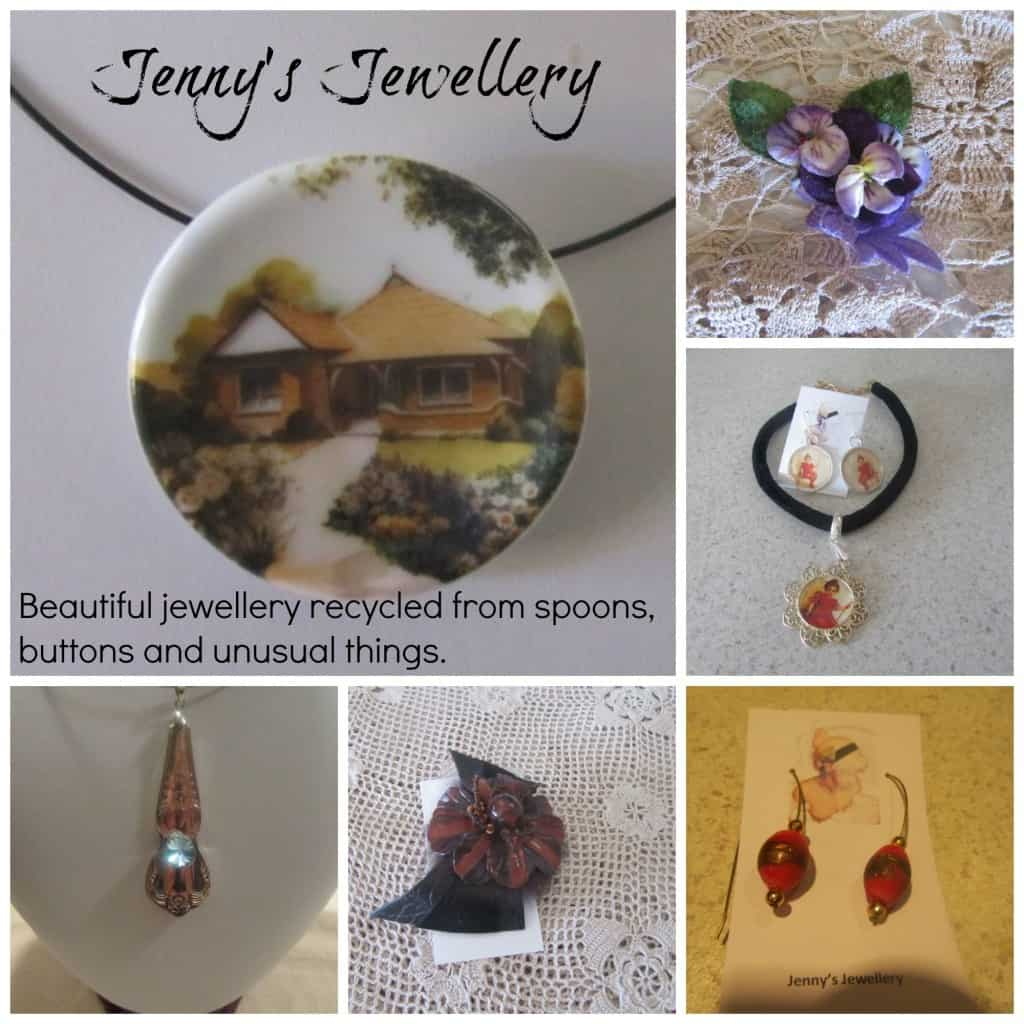 Jenny's Jewellery Collage