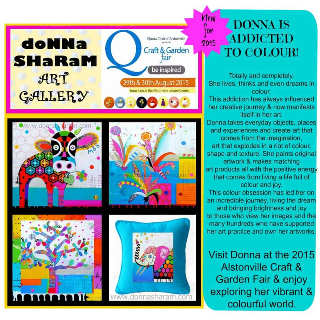 donna sharamCollage