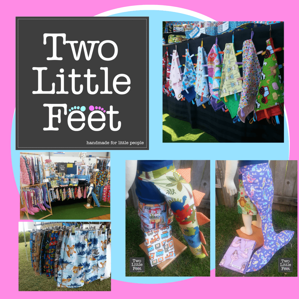 two little feet Collage